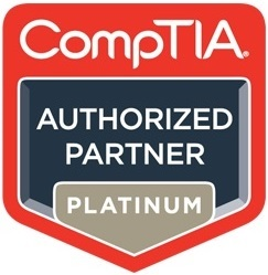 Firebrand Training CompTIA Authorized Partner Platinum logo