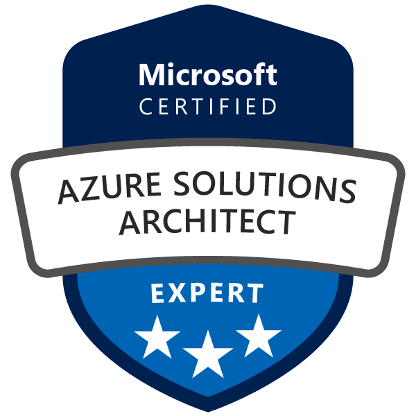 Microsoft Azure Solutions Architect Expert - Official Training for Certification