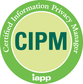 IAPP Training Partner certified information privacy manager