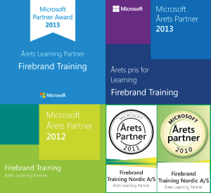 Microsoft Learning Partner of the Year 2013 - Firebrand Training